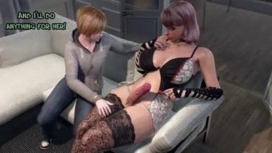 Futa on male for Nancy by BlacksheepOvca rule34 Futanari fuck guy 3D futadom