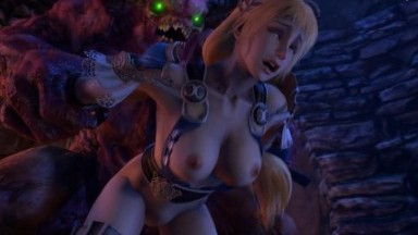 Hard fuck Sophitia enjoying Big dick by Darsovin rule34 2021 monster cock 3D sex HD