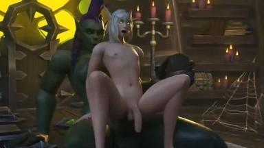 futa on male best ride fuck by BEAROCK rule34 futadom 3D sex animation