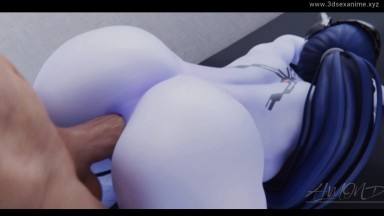 widowmaker anal fuck by Almond rule34 2021 Overwatch nsfw 3D sex From game