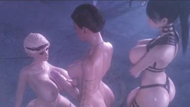 Big Boobs futa Cerene and Lanessa TitFuck by affect3d rule34 Futadom 3D sex futanari