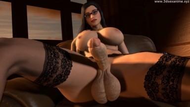 Futanari new colleague by weebu rule34 2021 Futadom 3D sex Animation HD