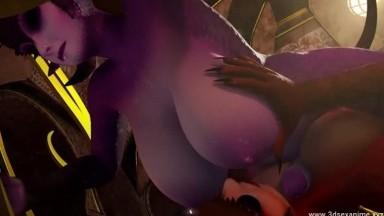 Morning Milk by Janner rule34 2021 Monster Girl Futa 3D nsfw Animation Futadom