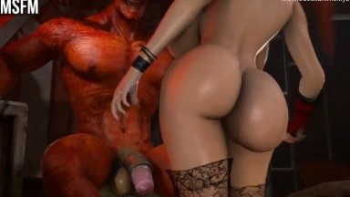 Kasumi x Demon Horscock by PMMsfm rule34 Monster Dick 3D nsfw AnimatiON HD