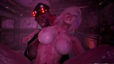 Futanari Black ops sex by sleepyB rule34 Futadom 3D porn HD