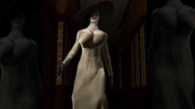 Lady Dick mitrescu by serge3dx rule34 Resident Evil nsfw 3D porn from game HD