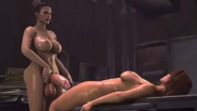 Futanari evil fuck Jill by DesireSFM rule34 resident evil Futa 2021 3D Futadom From game HD
