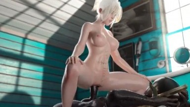 Mercy ride bbc by Ruria Raw rule34 Overwatch 2021 3D nsfw from game HD