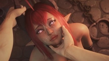 Succubus Hot BlowJob by Baronstrap rule34 monster girl 3D porn Animation NSFW HD