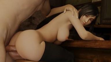Tifa hot bar night by onusman rule34 final fantasy 3D porn from game HD