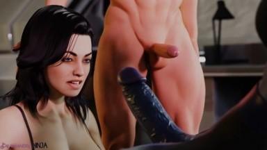 Futa liara domination by Salamandra rule34 mass effect 3D porn futadom HD