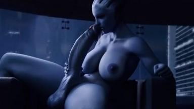Liara Futanari Solo by kaie rule34 mass effect porn futadom 3D nsfw Futa HD