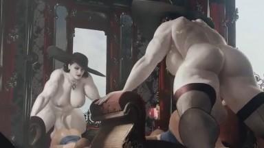 Lady Dimitrescu Futa dominate Jill by GeneralButch resident evil rule34 futadom HD 2021