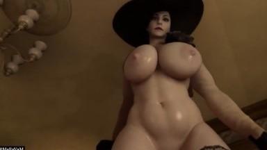 Lady Dimitriscu Femdom by Mafavam rule34 Resident Evil porn HD