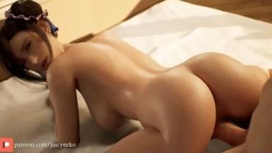 Tifa Lockhart working it by Juicyneko rule34 Final Fantasy 7 porn 2021 HD