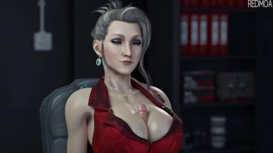 Scarlet Magic cock bigtits job by redmoa rule34 final fantasy animation Porn