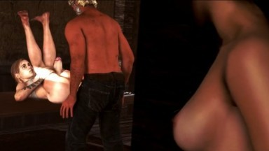 Futanari threesome Ellie and zoey by dominothecat rule34 the last of us Futadom Porn
