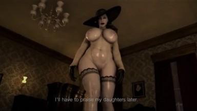 Lady Dimitriscu Femdom part 2 by Mafavam rule34 Resident Evil porn HD
