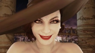 Futa Lady Dimitrescu x Jill by justausernamesfm rule34 Resident evil Futadom 2021