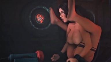 Lara Croft Forced Orgasm Machine by Baronstrap rule34 Tomb raider Porn