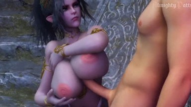 Cecily Tittyfuck Tutoring by AlmightyPatty rule34 elves Porn 3D ELF aNIMATION hd