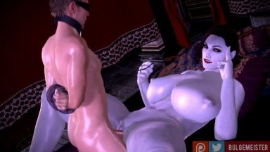 lady dimitrescu Force guy by bulgemeister rule34 resident evil porn 3D 2021 HD