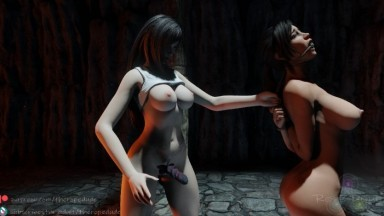 Lara captured by tifa NEW OST from The Rope Dude rule 34 Final Fantasy Tomb Raider SHort MOvie