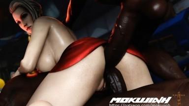 Scarlet threesome interracial by mokujin hornywood rule34 final fantasy Porn