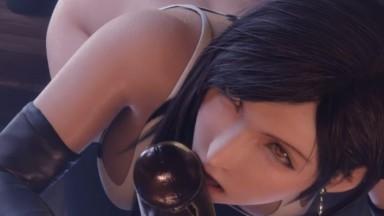 Cum In Mouth Tifa blowjob by GCraw rule34 final fantasy Porn 2021