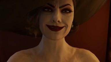 Ada sucking futanari Alcina Dimitrescu by Neroupii rule34 Resident Evil Porn