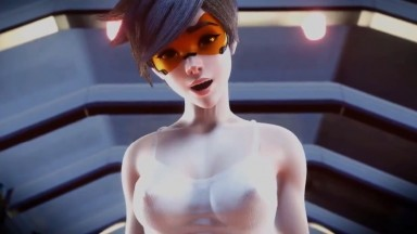 Tracer riding by Swurst rule34 overwatch porn Cowgirl 3D 2021