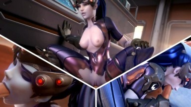 Widowmaker Hot Compilation by Fpsblyck Midnightnsfw rule34 Overwatch Porn