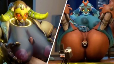 orisa hot sex by snips456 rule34 Overwatch porn compilation