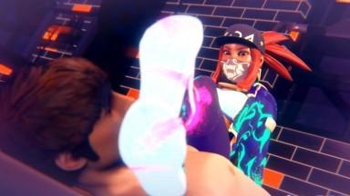 Akali After Dance Foot fetish by Allfs3d rule34 League of Legends porn
