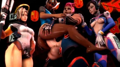 Zarya futadom by NYL rule34 Overwatch Porn compilation futanari