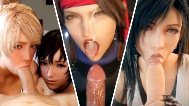 Party Day with Tifa and freinds by anosluz bewyx idemi and others Final fantasy HMV Compilation