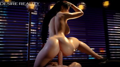 Tifa reverse cowgirl by Desire Reality rule34 final fantasy porn 2021