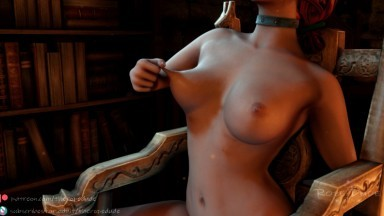 The Awakening Triss self forced orgasm by the rope dude rule34 the witcher bondage