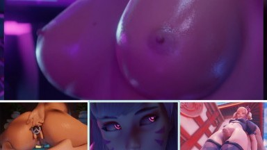 special hot girls HMV by yeero futuretist and more rule34 Overwatch compilation