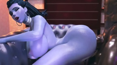 widowmaker doggy interracial fuck by grand cupido rule34 overwatch