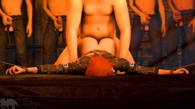 Leliana forced bondage fuck by lordardvark rule34 Dragon Age porn
