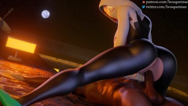 Spider Gwen riding all versions by bouquetman rule34 marvel porn 2021