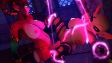 Ezria Futadom by janner rule34 Futa monster girl forced bondage futanari