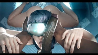 Motoko Kusanagi fuck with bbc by generalbutch rule34 2021 ghost in shell