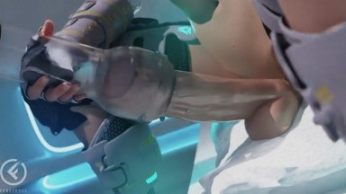 blaire masturbating with an artificial vagina by Forged3DX rule34 futanari