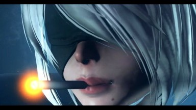 Determination with 2b Dom sombra by Dominothecat rule34 nier automata x overwatch