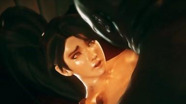 Momiji fuck big dick Dead or Alive porn 3D