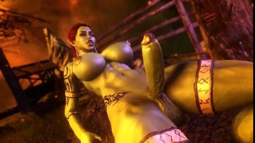 futanari Orc Futa Taker POV 1080p 3D porn sex animation