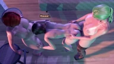 Futanari fuck guy Christmas Special by BlacksheepOVCA rule34 Futa on male Domination shemale 3D